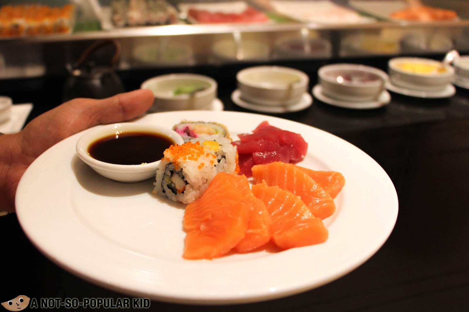 Sushi and Sashimi in Dusit Thani's Basix!