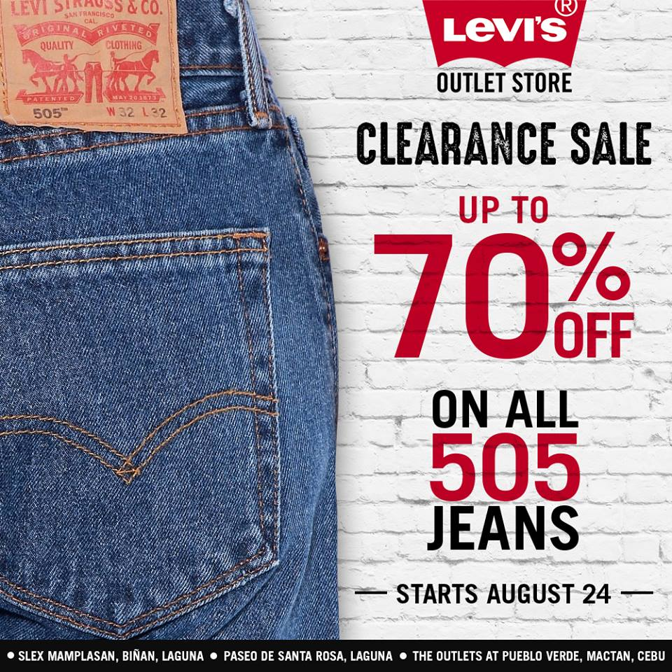 Levi s Outlet Store Clearance Sale - Up to 70% Off on all 505 Jeans ... c4af091ee
