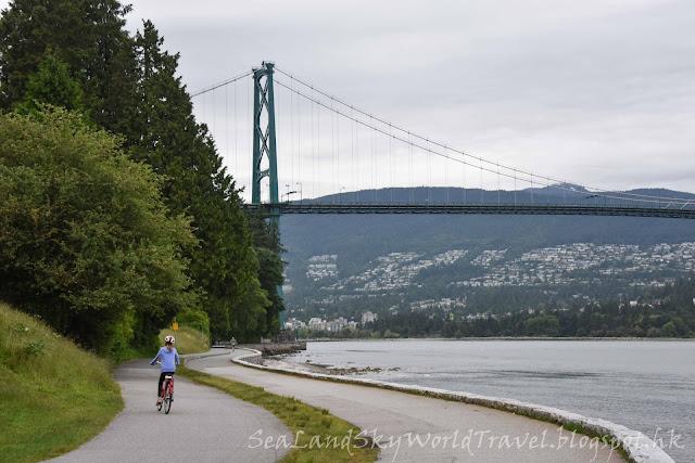 溫哥華,Vancouver, Stanley Park,  Prospect Point