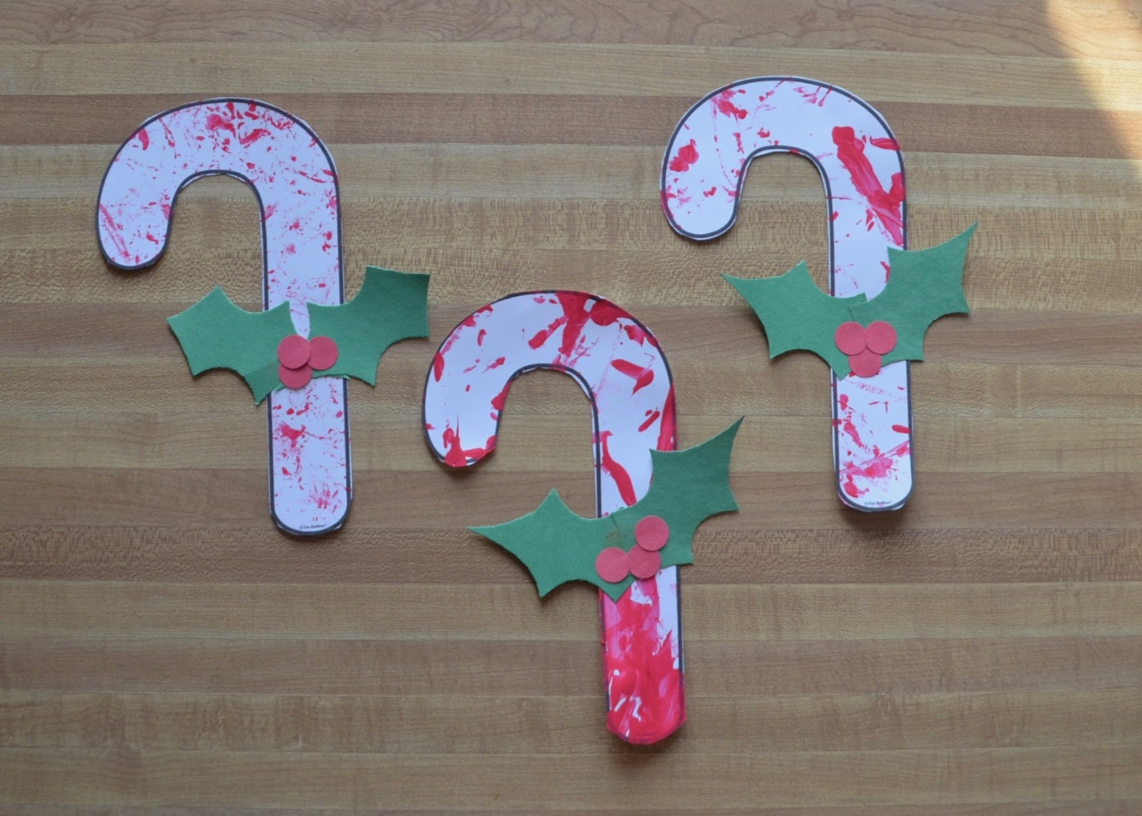 Aunt Tami S House Candy Canes Toddler Art