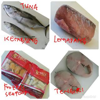 frozen seafod ikan laut frozen food