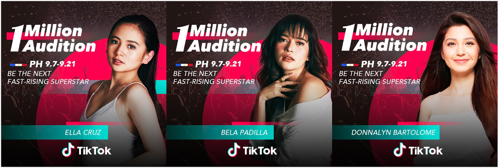 TikTok's 1 Million Audition presents Bela Padilla, Ella Cruz