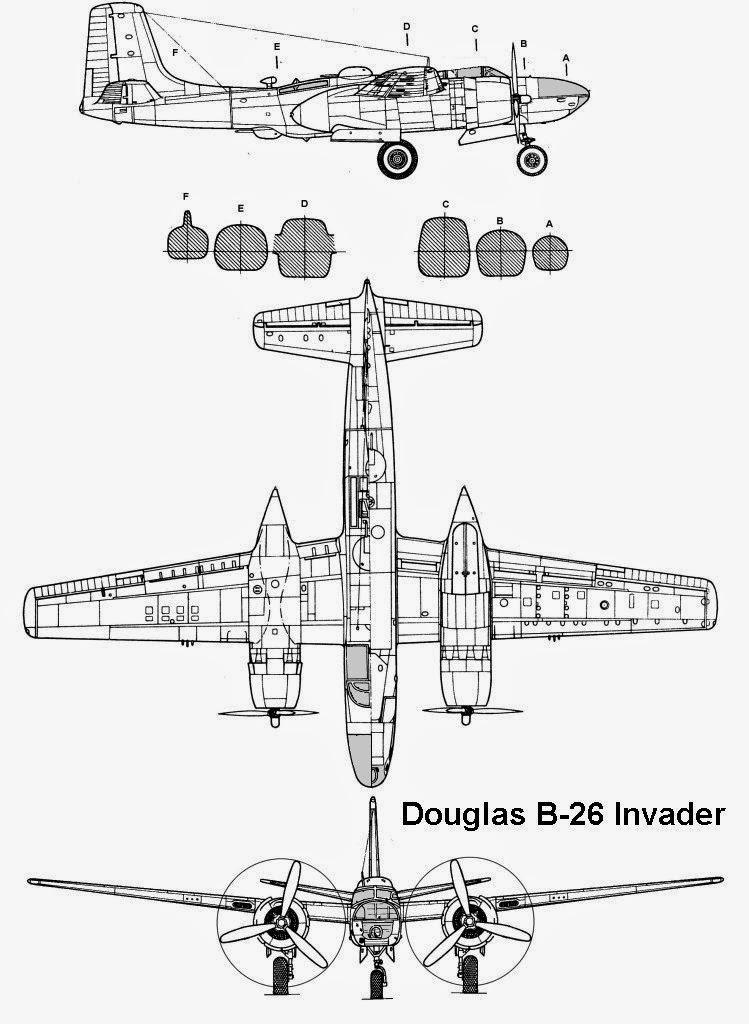 airplane scale modelkit  douglas a