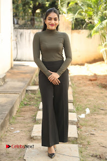 Tollywood Actress Punarnavi Bhupalam Latest Po Gallery in Black Trouser Pant at Pittagoda Movie Interview  0147.JPG