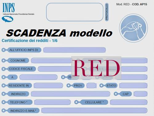 Scadenza Red 2018
