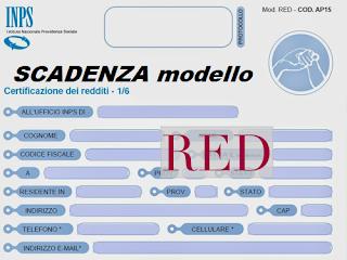 Scadenza invio RED 2020