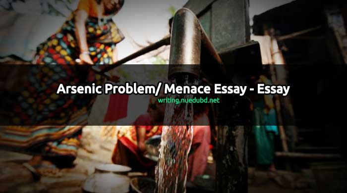 Arsenic Problem Essay