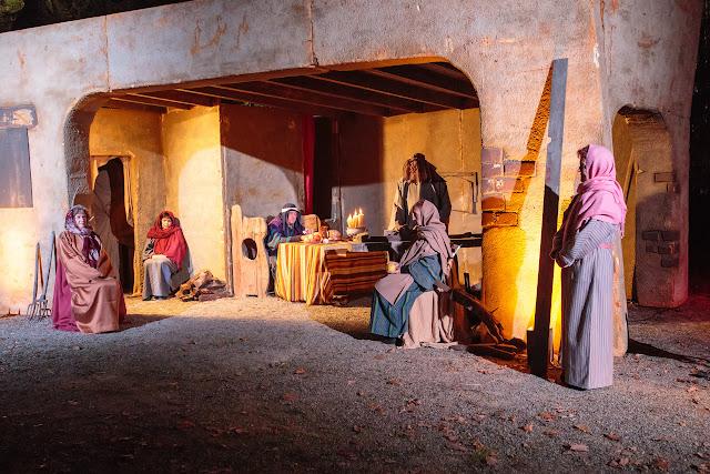 Рождественские библейские сюжеты (Pessebres vivents) 2015 в Perelada