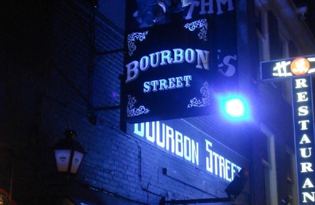 Balada Bourbon Street em Amsterdã