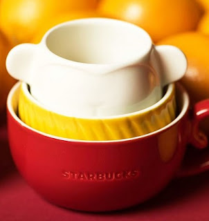 Source: Starbucks. Nesting monkey three-mug set.