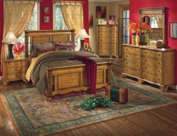 dormitorio estilo campestre