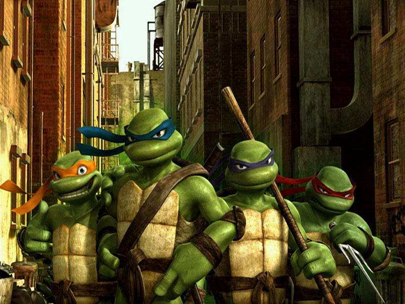 WALLPAPER FREE DOWNLOAD: Ninja Turtles Cartoon Desktop Wallpapers