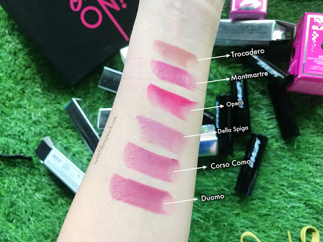 review lipstick matte lokal Urban Lips
