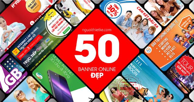 50 mẫu thiết kế banner điển hình và còn nhiều tại nguoithietke.com