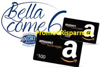 Logo Concorso Rocchetta : vinci 200 buoni Amazon da 100 euro