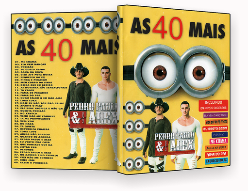 DVD – PEDRO PAULO & ALEX AS 40 MAIS – ISO