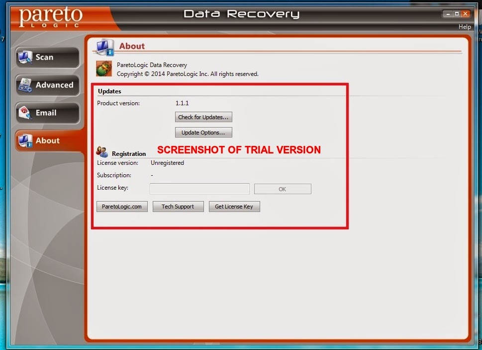 data recovery free license key