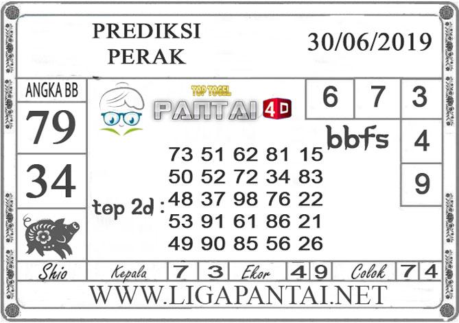 """PREDIKSI TOGEL """"PERAK"""" PANTAI4D 30 JUNI 2019"""