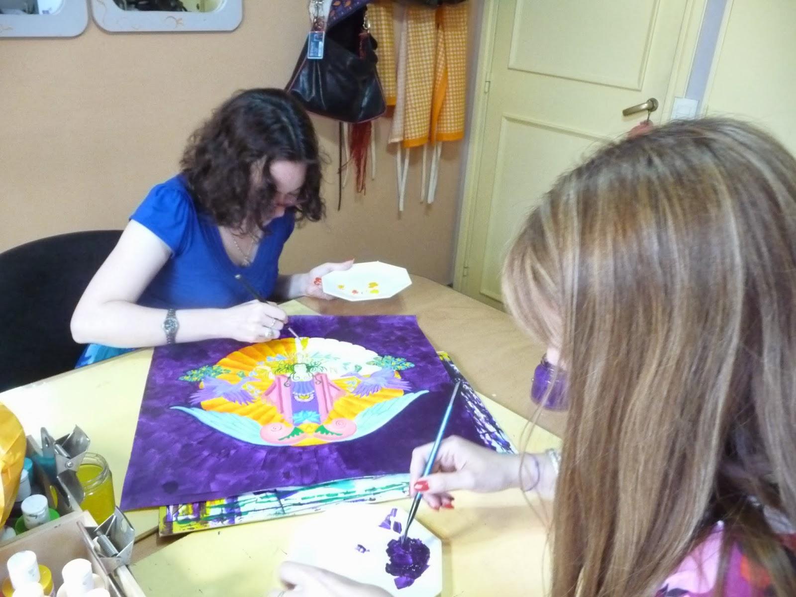 simbología y mandalas, arte terapia con mandalas