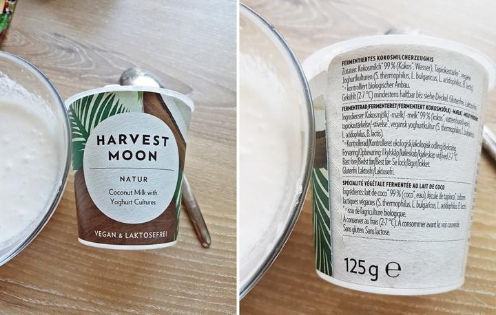 Kokosmilchjoghurt von Harvest Moon