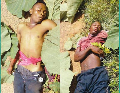 Graphic: Two shot dead by Police during protest against Fulani herdsmen killings in Kogi State