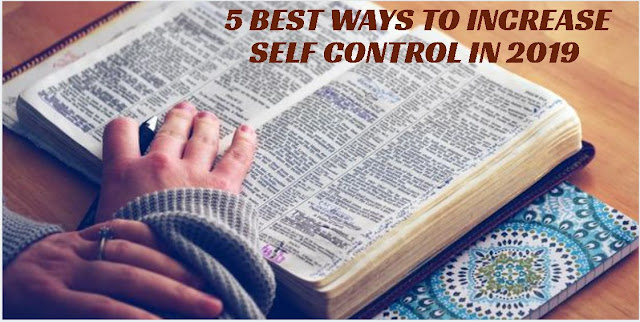 self control 2019, anger management 2019