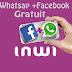 طريقة تشغيل جواز الفيسبوك والواتساب مجانا في إنوي وب0 درهم مذى الحياة Pass Facebook+whatsap inwi Gratuit