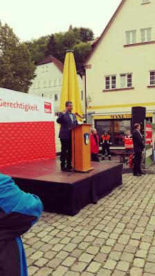 Wahlveranstaltung SPD, Sigmar Gabriel, BTW 2017, Bundestagswahl 2017, Blogger BTW 2017
