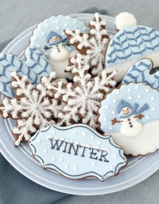 winter cookies idea