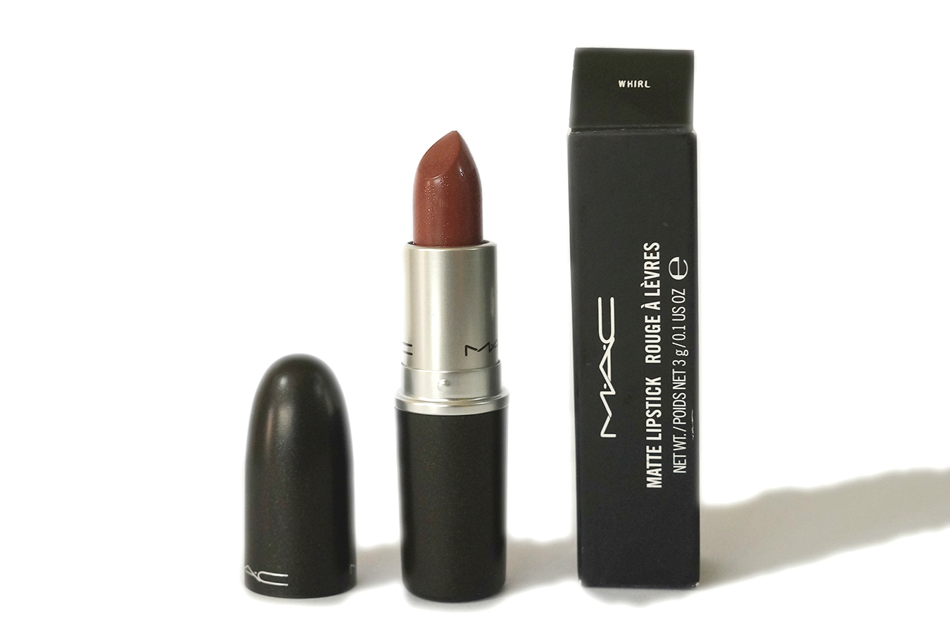 Eccezionale MAC Lipstick in Whirl (Matte) | Review, Swatches, Photos - Jello Beans PK95