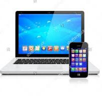 Comouter+mobail+laptop