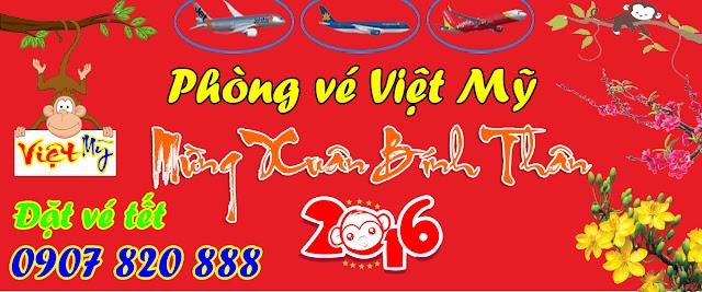 Phòng vé Việt Mỹ - Mừng xuân Bính Thân