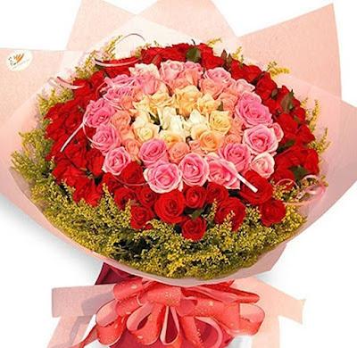bó hoa hồng đẹp nhất tặng người yêu