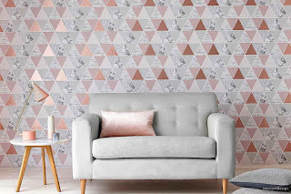 Bring Life To The Walls With Living Room Wallpapers 11
