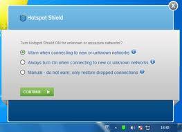 تحميل برنامج hotspot shield هوت سبوت شيلد مجاني لفتح المواقع المحجوبة للكمبيوتر