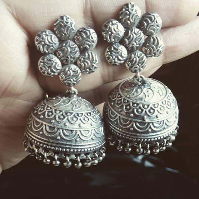 Silver jewellery india