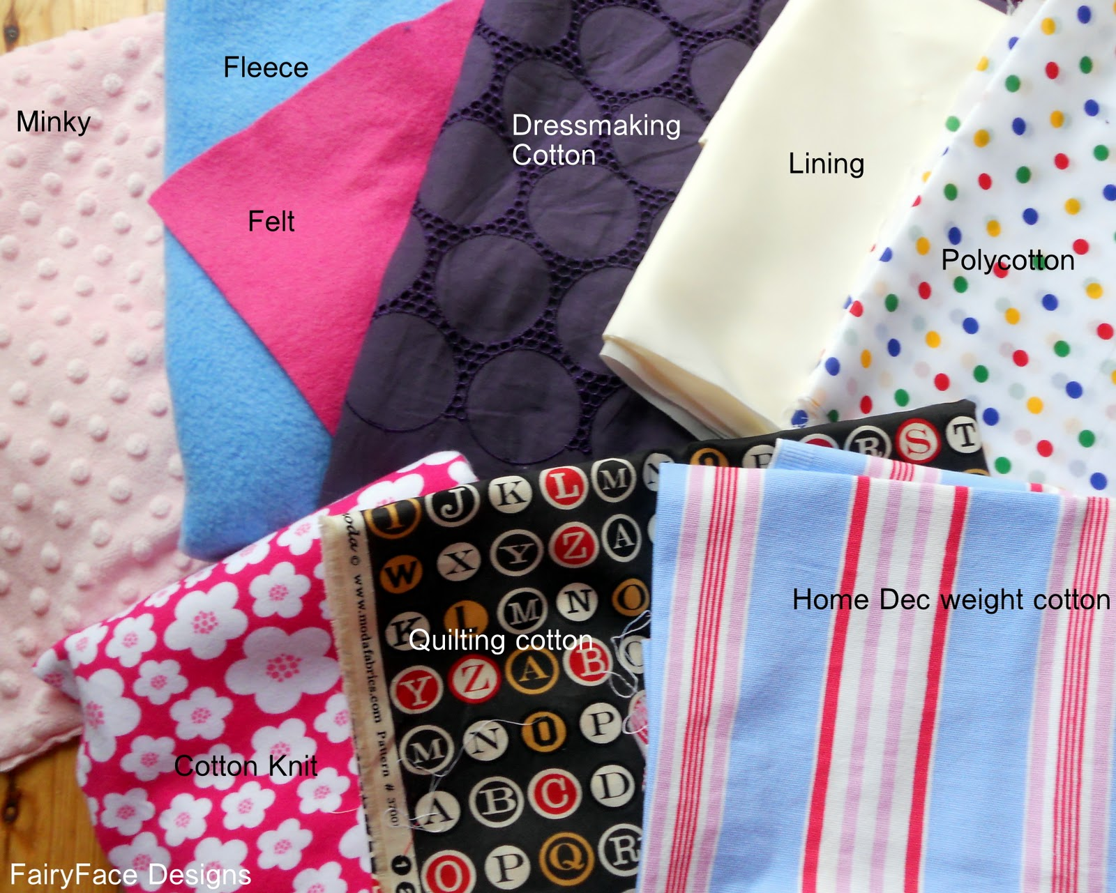 FairyFace Designs: {Sew} Get Started: Sewing Basics Part 1
