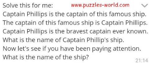 Captain Phillips is the captain of this famous ship