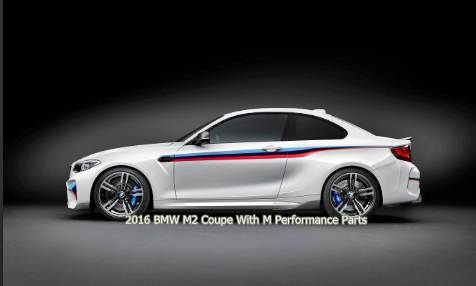 2016 BMW M2 Coupe With M Performance Parts