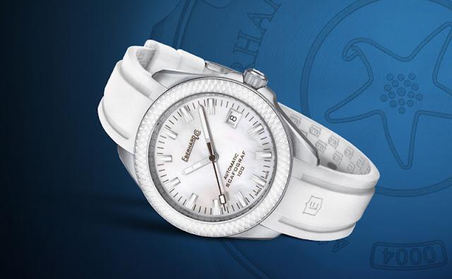 Eberhard Scafograf 100 white dial