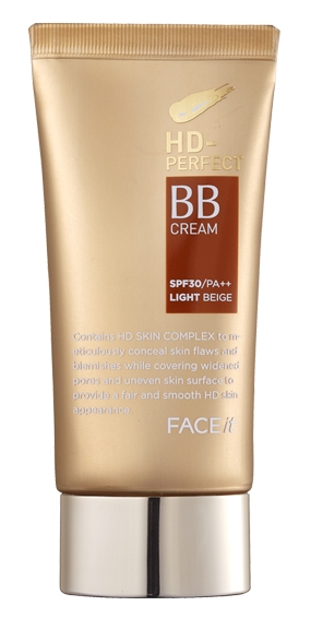 Face Shop HD+ BB cream