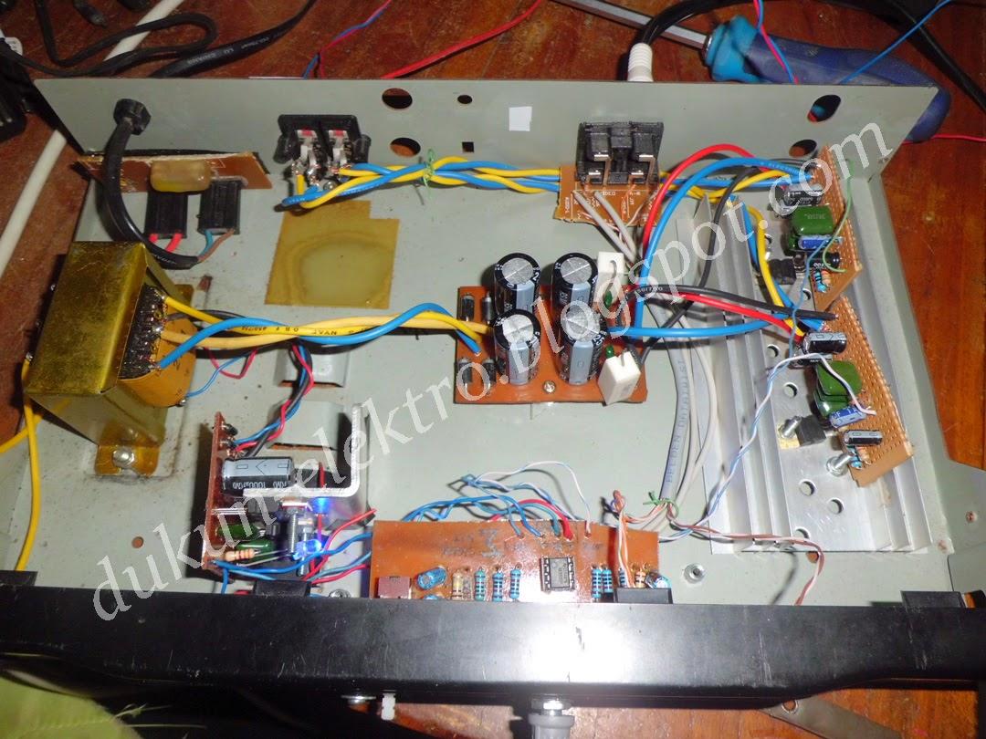 Dukun Elektro Rangkaian Amplifier 14W Dengan IC TDA2030A