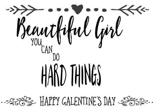 Mcgalver Free Printable Galentine S Day Cards