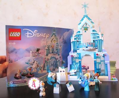 Инструкция и замок Эльзы Лего