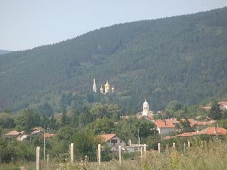 Şipka eteklerindeki Rus Kilisesi