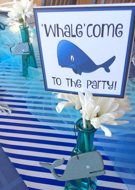 Michelle Paige Blogs: Whale Themed Party
