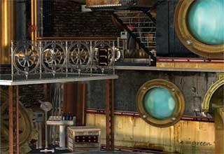 Steampunk House Escape - Solución