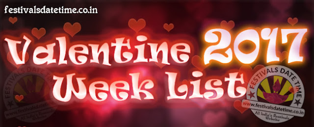 Valentine Week List, Dates & Schedule of Valentine Week Days