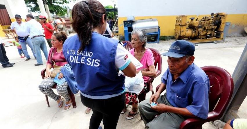 Afiliarse al SIS no hay límite de edad, informó el Seguro Integral de Salud