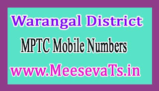 Shayampet Mandal MPTC Mobile Numbers List Warangal District in Telangana State